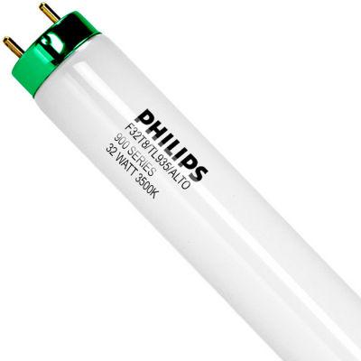 Philips 479600 F32T8/935/ALTO 4' Fluorescent T8 Lamp, 32W, 2625 Lumens, 3500K, Medium Bi-Pin - Pkg Qty 30