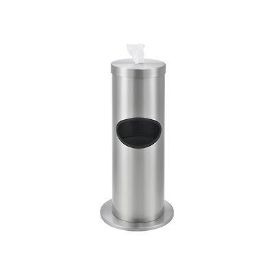 Global Industrial™ Floor Standing Wet Wipe Dispenser - Stainless Steel