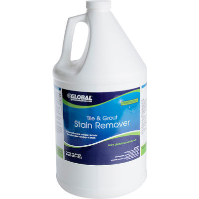 Global Industrial™ Tile & Grout Stain Remover - Case Of Four 1 Gallon Bottles
