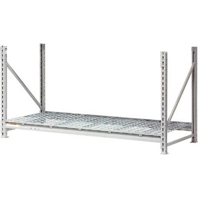 """Global Industrial™ Additional Level 96""""W x 18""""D Wire Deck"""