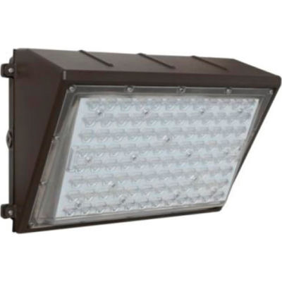 Commercial LED CLW4-1505WMBR LED Wall Pack, 150W, 19350 Lumens, 5000K, IP65, DLC 4.4