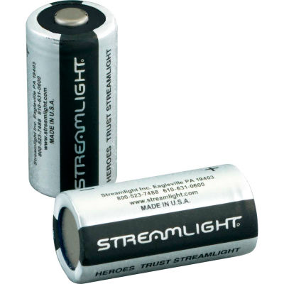 Streamlight® 85175 CR123A Lithium Battery (2 Pack)