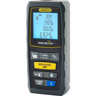 General Tools TS01 Toolsmart Laser Distance Measure 100ft.