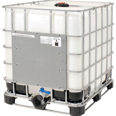 Mauser IBC Container 275 Gallon UN Approved with Composite Metal Pallet Base