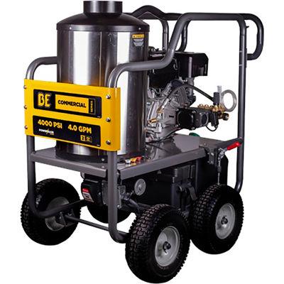 BE Pressure HW4015RA 389cc 4000PSI Hot Water Pressure Washer (PowerEase)
