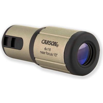 Carson Optical CF-618 CloseUp 6x18mm Close-Focus Monocular
