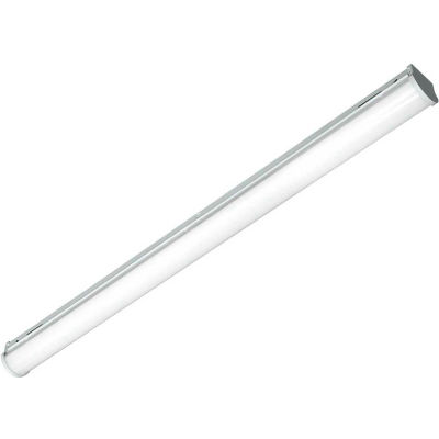 Columbia MPS4-40ML-CW-EDU LED 4' Linear w/ Frosted Acrylic Lens, 40W, 4600 Lum, 40K, 0-10V Dim, DLC