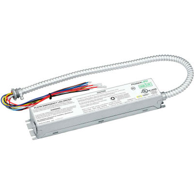 """Dual-Lite PLD7M Emergency LED Battery Pack, 7W Constant Output, Galvanized Steel w/ One 24"""" Conduit"""