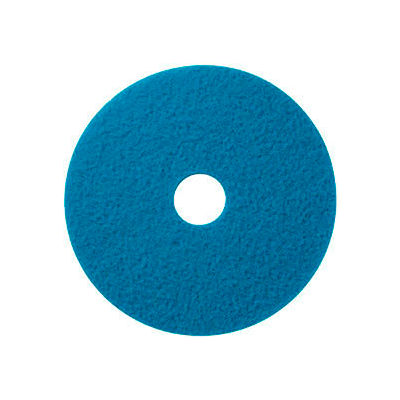 """Global Industrial™ 22"""" Blue Stripping Pad - 5 Per Case"""