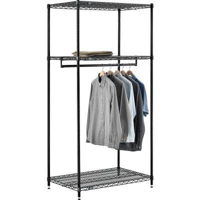 "Free Standing Clothes Rack - 3 Shelf - 36""W x 24""D x 74""H"