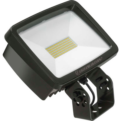 Lithonia TFX2 LED 40K MVOLT YK DDBXD LED Flood, 94W, 12700 Lum, 4000K, Bronze, DLC, Yoke Mount