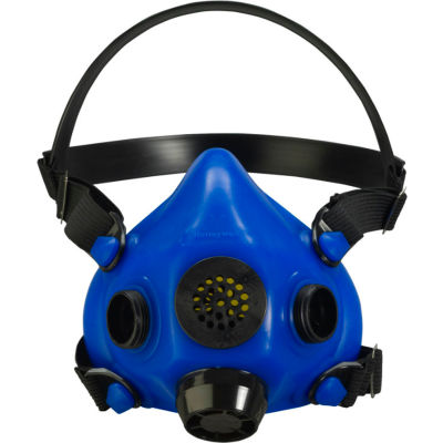 Honeywell RU8500 Half Mask Blue, Small, Speech Diaphragm And Diverter Exhalation Valve Cover