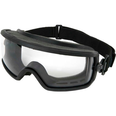 MCR Safety PD1210PF Predator Goggles, Direct Vented, MAX 6 Anti-Fog, 1 Each