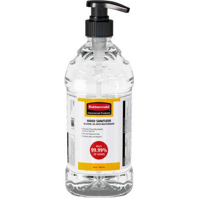 Rubbermaid® 64 oz Alcohol Based Table Top Hand Sanitizer w/ Pump Top - 2133501 - Pkg Qty 4
