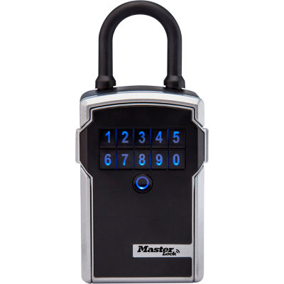 Master Lock® Bluetooth® Portable Lock Box for Business Applications - Silver/Black