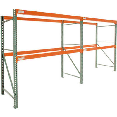"Global Industrial™ Tear Drop Pallet Rack Add-On 144""W X 42""D X 144""H"