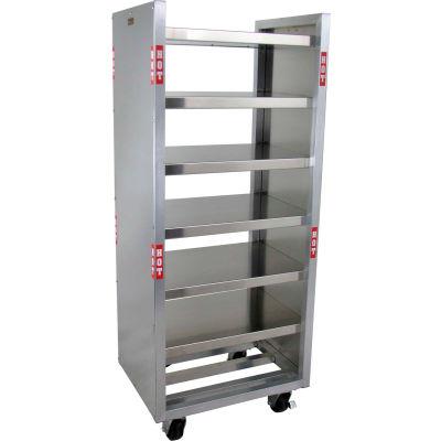 "Lockwood Mobile Food Warming Shelves, 20-7/8x27-1/8x65"""