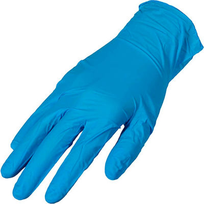 Premium Industrial Powder-Free Nitrile Disposable Gloves, 4 MIL, Large, 100/Box