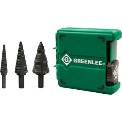 Greenlee® Step Bit Kit -  #1,#4 & #9