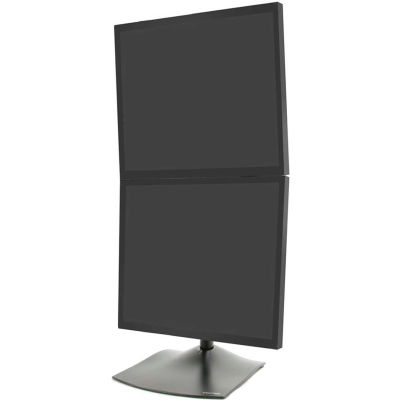 Ergotron® DS100 Dual-Monitor Desk Stand, Vertical