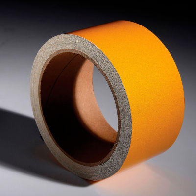 """INCOM® Safety Tape Reflective Solid Yellow, 2""""W x 30""""L, 1 Roll"""