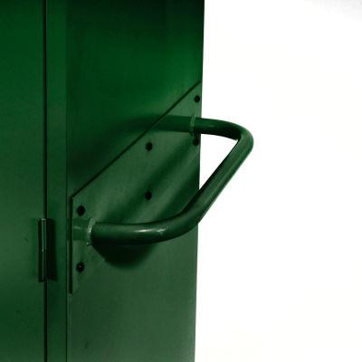 Sandusky Cabinet Push Handle TSH, Green