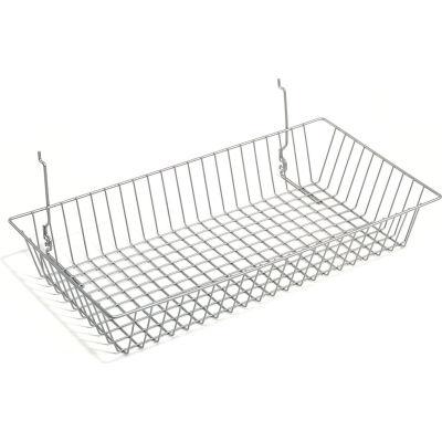 Wire Utility Basket 24x12x4 - Pkg Qty 6