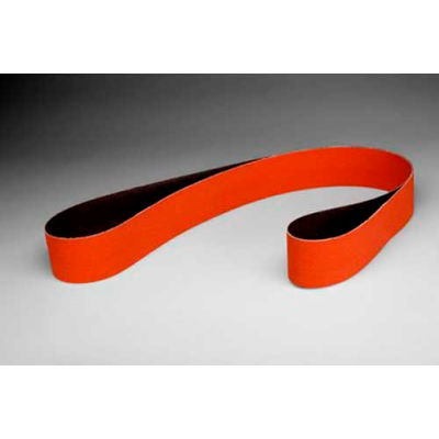 "3M™ Cubitron™ II Cloth Belt 984F 4"" x 132"" 36+ Grit Precision Shaped Ceramic Grain"