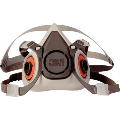 3M™ Half Facepiece Reusable Respirator 6200/07025(AAD), Medium, 1 Each