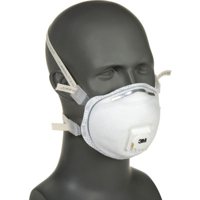 3M™ 8212 N95 Disposable Particulate Welding Respirator Mask, w/Faceseal, 10/Box