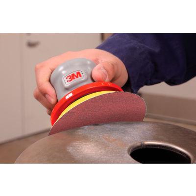 """3M™ Stikit™ Film Disc Roll 375L 5"""" X NH Aluminum Oxide P320 100 discs per roll - Pkg Qty 4"""