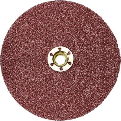 """3M™ Cubitron™ II Fibre Disc Quick Change 982C 5"""" Diameter TN Ceramic Grain 36+ Grit - Pkg Qty 25"""