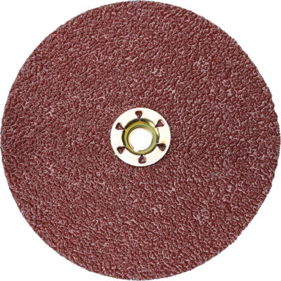"""3M™ Cubitron™ II Fibre Disc Quick Change 982C 4-1/2"""" Diameter TN Ceramic Grain 60+ Grit - Pkg Qty 25"""