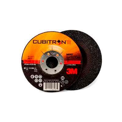 "3M™ Cubitron™ II Depressed Center Grinding Wheel 78466-Q 4-1/2""x 1/4""x 7/8"" T27  24 Grt"
