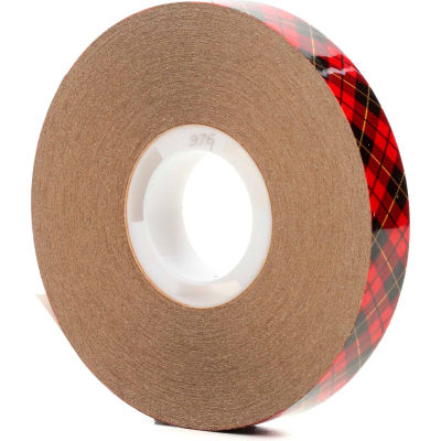 "3M™ Scotch® 976 ATG Adhesive Transfer Tape 1/2"" x 36 Yds. 2 Mil Clear - Pkg Qty 72"
