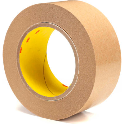 "3M™ 465 Adhesive Transfer Tape 2"" x 60 Yds. 2 Mil Clear - Pkg Qty 24"