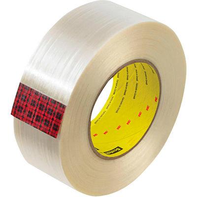 """3M™ Scotch® 890MSR Filament Tape 2"""" x 60 Yds. 8 Mil Clear - Pkg Qty 24"""