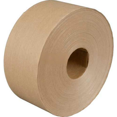 """3M™ 6147 Reinforced Water Activated Paper Tape 3"""" x 450 Yds. 6 Mil Kraft - Pkg Qty 10"""