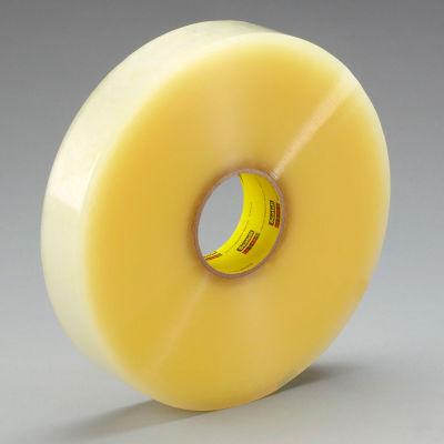 "3M™ Scotch® 305 Machine Length Carton Sealing Tape 2"" x 1000 Yds. 1.8 Mil Clear - Pkg Qty 6"
