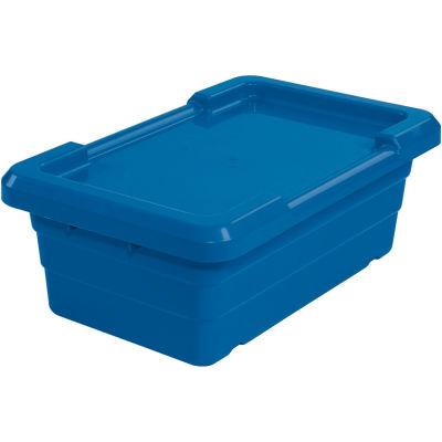 Cross Stack Nest Tote Tub TUB2516-8 -  25-1/8 x 16 x 8-1/2 Blue - Pkg Qty 6