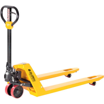 Best Value Industrial Duty Pallet Jack Truck 5500 Lb. Capacity - 27 x 48 Forks