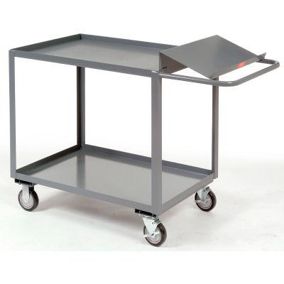 """Jamco Order Picking Cart, 2 Tray Shelves, 24""""Wx48""""L, 1200 Lbs. Cap."""