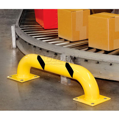 """Global Industrial™ Rack Guard Round 9""""H x 36""""L"""