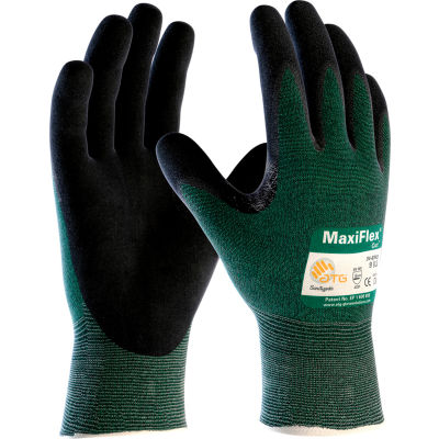 PIP MaxiFlex® Cut™ Micro-Foam Nitrile Coated Gloves, Black, Small, 12/Pair - Pkg Qty 12