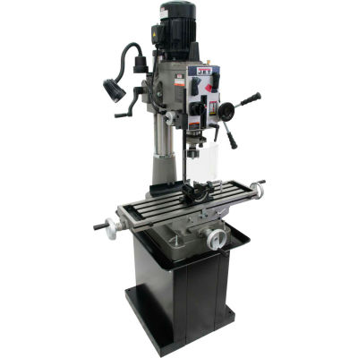 JET® 351141 JMD-40GH Geared Head Mill Drill with Newall DP700 2Axis DRO & X-Powerfeed