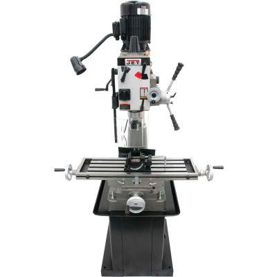 JET® 351147 JMD-40GHPF Geared Head Mill Drill, Power Downfeed, Newall DP500 DRO, X-Powerfeed