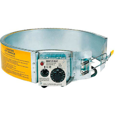 Drum Heater For 55 Gallon Steel Drum, 200-400°F, 240V