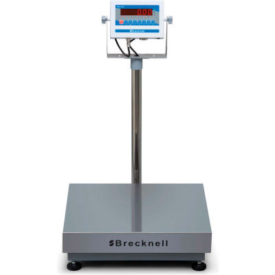 "Brecknell 3800LP Bench Digital Scale, 300 lb x 0.1 lb, 25"" x 20"""