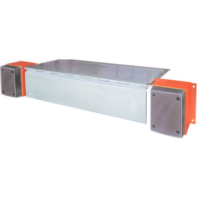 """DLM HED Series AC Powered Edge of Dock Leveler 66""""W Usable & 104""""W Overall 20,000 Lb. Cap."""