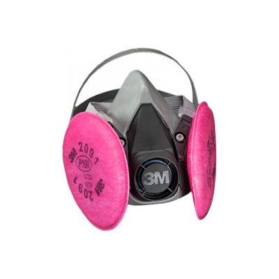 3M™ Half Facepiece Reusable Respirator Assembly 6291/07001(AAD), P100, Medium